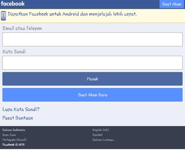 40 nama facebook paling keren di Indonesia